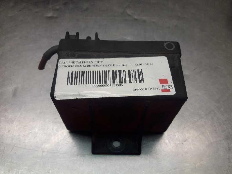 Recambio de caja precalentamiento para citroen xsara berlina 1.9 td exclusive referencia OEM IAM 598119