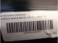 RETROVISOR DRET FIAT BRAVO (182) 1.6 16V - 16V 100 SX