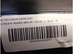 RETROVISOR DERECHO FIAT BRAVO (182) 1.6 16V - 16V 100 SX